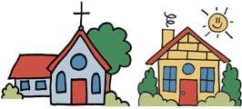 Childrens Worship Bulletins Church Centered Icon Image