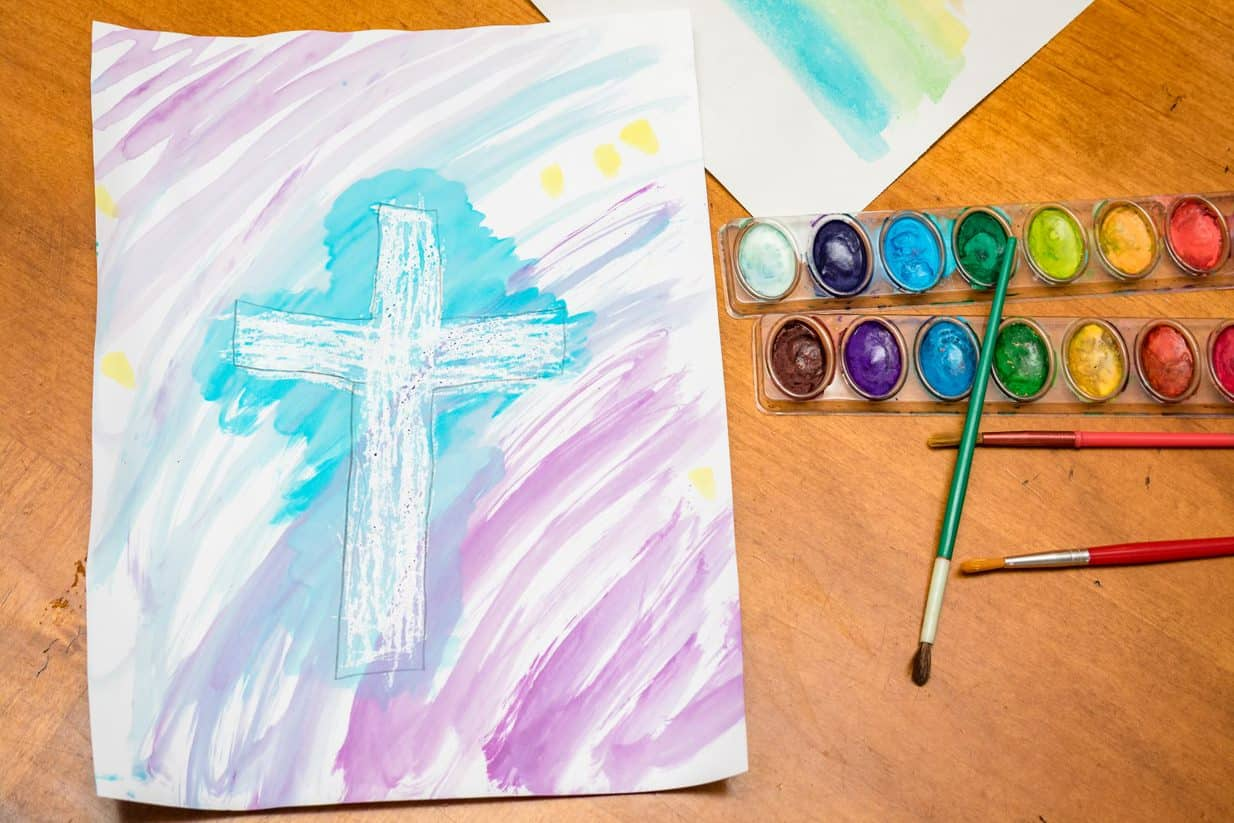 Create a Painting of the Cross