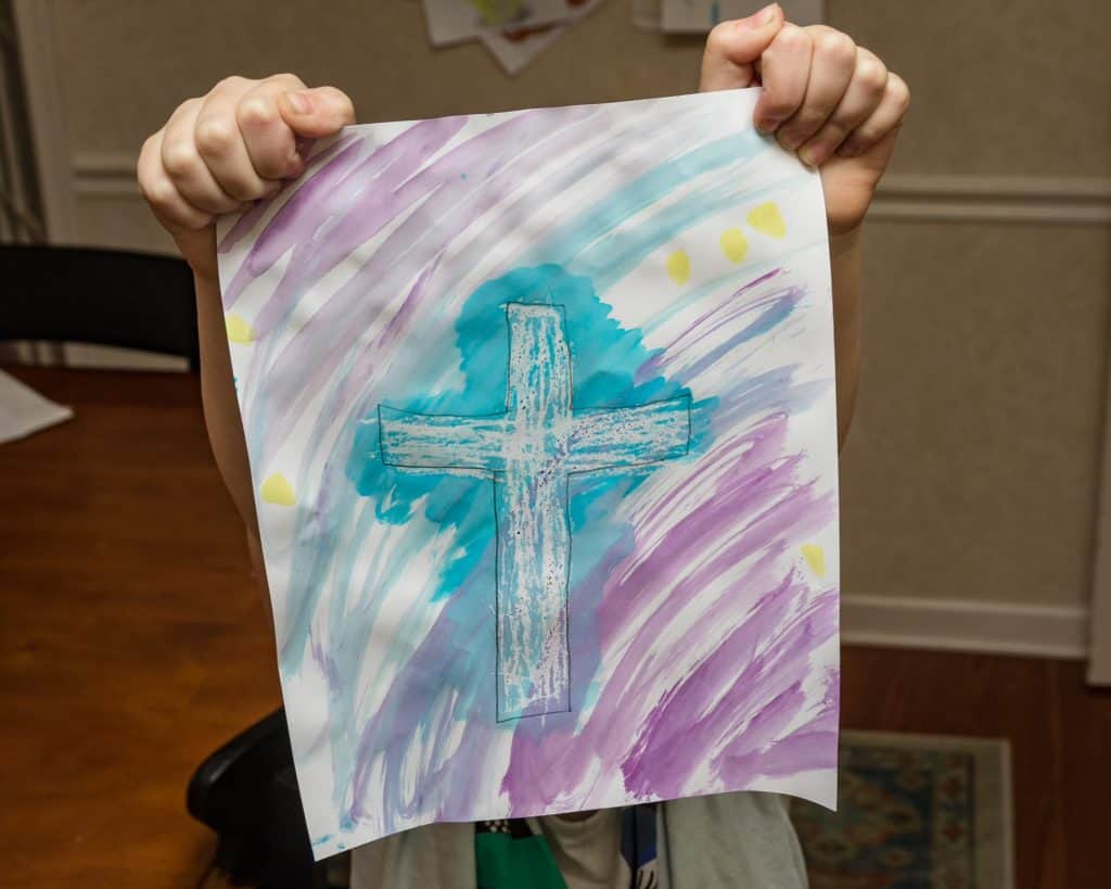 Water Color Craft For Easter