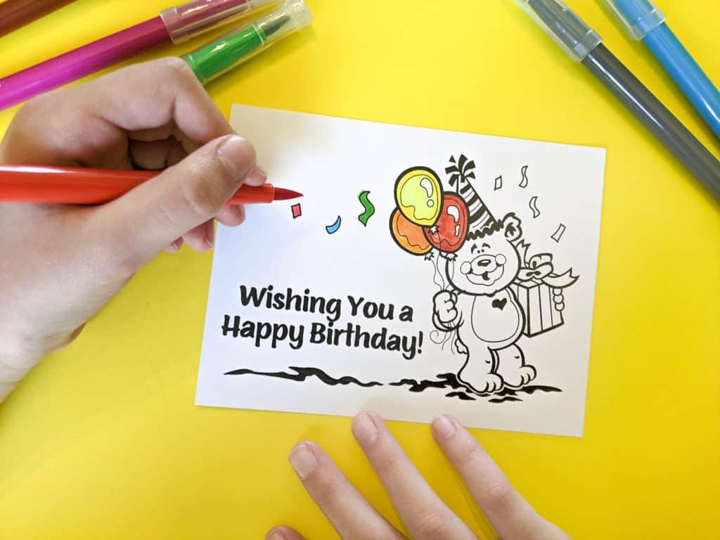 Free Birthday Cards Children S Worship Bulletins Blog