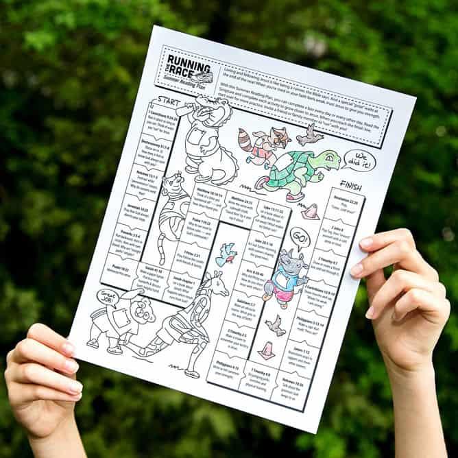 Bible Reading Summer Plan For Kids