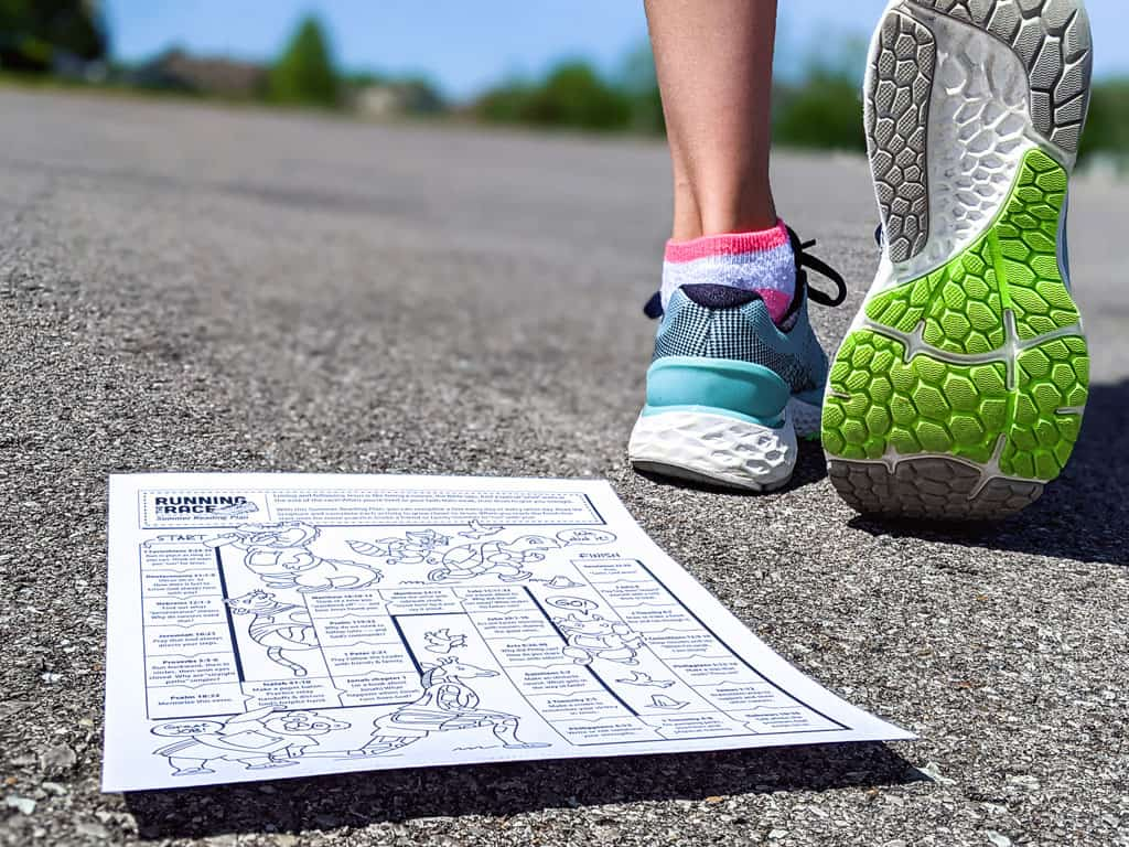 Running The Race Bible Reading Plan For Kids And Adults