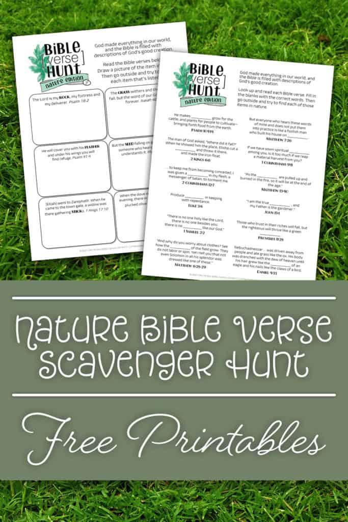 Bible Verse Scavenger Hunt Image
